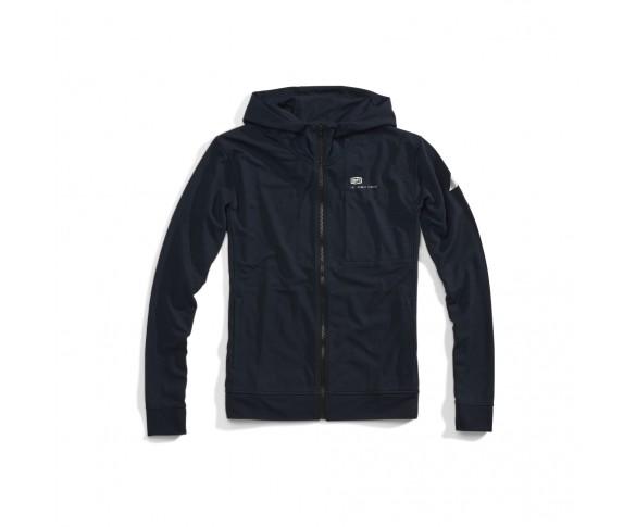 100%, REGENT Zip Hooded Tech Fleece, VUXEN, L, BLÅ