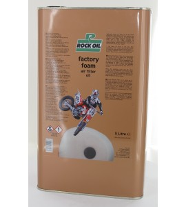 Rock Oil, Factory Foam Luftfilter olja 5 Liter