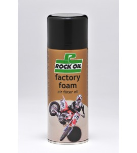Rock Oil, Factory Foam luftfilter spray 400ml