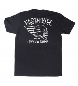 Fasthouse, T-Shirt HERETIC, VUXEN, S, SVART