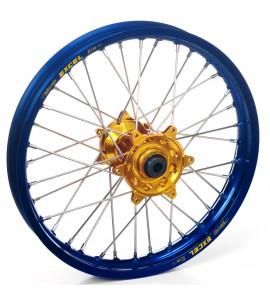 "Haan Wheels, Komplett Hjul, 1,60, 21"", FRAM, BLÅ GULD, SHERCO 12-13 450 Enduro Racing/510 SE Racing, 13 450 SE, 14-19 450 SEF, 20 450 SEF-R, 05-11 Enduro 4.5i, 12-19 250 SE/300 SE, 14-19 250 SEF/300 SEF, 20 250 SEF-R/250 SE-R/300 SEF-R/300 SE-R, 07-11 End"