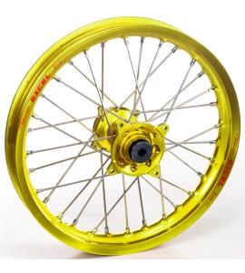 "Haan Wheels, Komplett Hjul, 1,60, 21"", FRAM, GUL, SHERCO 12-13 450 Enduro Racing/510 SE Racing, 13 450 SE, 14-19 450 SEF, 20 450 SEF-R, 04-11 Enduro 4.5i, 12-19 250 SE/300 SE, 14-19 250 SEF/300 SEF, 20 250 SEF-R/250 SE-R/300 SEF-R/300 SE-R, 07-11 Enduro 2"