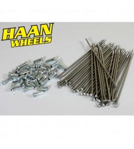 "Haan Wheels, Ekersats (Haan), 16"", BAK, Kawasaki 01-19 KX85, 97-00 KX80, Yamaha 02-19 YZ85, 19 YZ65, 97-01 YZ80, Suzuki 02-19 RM85, 97-01 RM80"