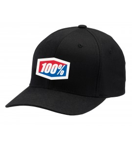 100%, Hat- Flexfit Classic, VUXEN, L XL, SVART