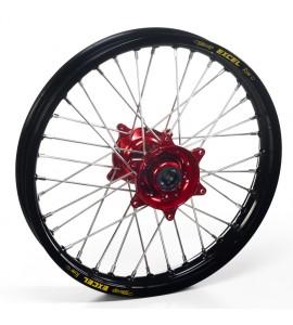"""Haan Wheels, Komplett Hjul, 1,60, 1,60, 21"""", FRAM, SVART RÖD, BETA 13-14 RR 450 4T Enduro/RR 450 4T Enduro Racing/RR 400 4T Enduro/RR 498 4T Enduro/RR 498 4T Enduro Racing, 13-18 RR 250 2T Enduro, 14-17 RR 250 2T Enduro Racing, 16-17 RR 350 4T Enduro Fact"""
