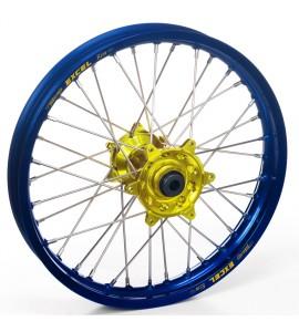 "Haan Wheels, Komplett Hjul, 2,15, 18"", BAK, BLÅ GUL, SHERCO 12-13 450 Enduro Racing/510 SE Racing, 13 450 SE, 14-19 450 SEF, 05-11 Enduro 4.5i, 12-19 250 SE/300 SE, 14-19 250 SEF/300 SEF, 07-11 Enduro 2.5i/Enduro 5.1i, 05-12 ST 2.5, 09-10 SX 2.5i-F, 17-18"