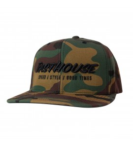 Fasthouse, Classic Hat - Camo, VUXEN, CAMO
