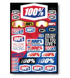 100%, DECAL SHEET 12 x 18