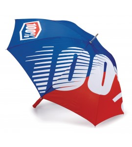 100%, UMBRELLA PREMIUM BLUE/RED