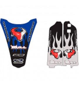 Why Stickers, Bull Sponsor YZF 250/450, 03-05, Yamaha 03-05 YZ450F, 03-05 YZ250F