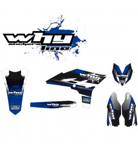 Why Stickers, Stickers Kit YZF 250, 10->, Yamaha 10-13 YZ250F