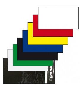 Tecno-X, Nummerplåtsplast Tjock 35*80 cm, VIT
