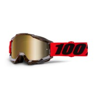 100%, ACCURI Goggle Vendome  - Mirror True Gold Lens, VUXEN