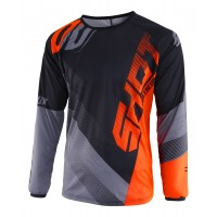 Shot, JERSEY ULTIMATE, VUXEN, M, SVART NEON ORANGE
