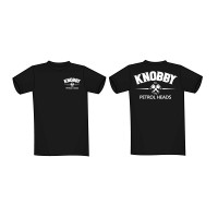 Knobby, KNOBBY T-Shirt Svart Small